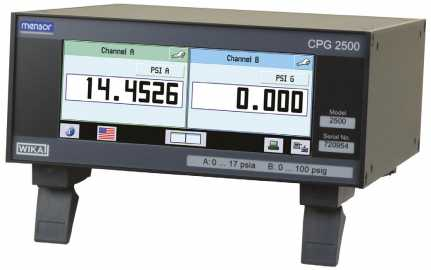 Mensor - CPG2500 (Digital Pressure Gauge